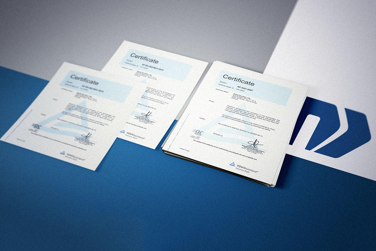 Certificação da Novatronica